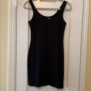 H&M Solid Black Bodycon Dress